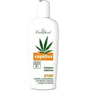 Cannaderm Capillus sampon seborrheás fejbőrre - 150ml