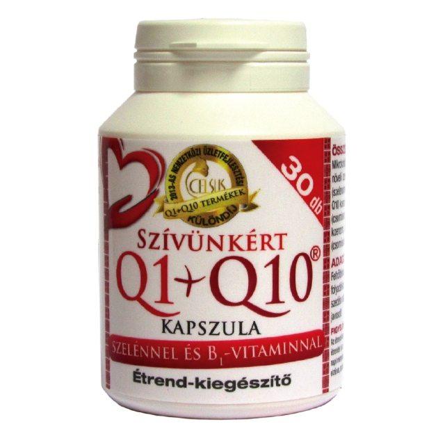 Celsus Q1+Q10 szívünkért kapszula - 30db