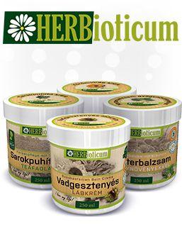 Herbioticum gyógynövénykrémek