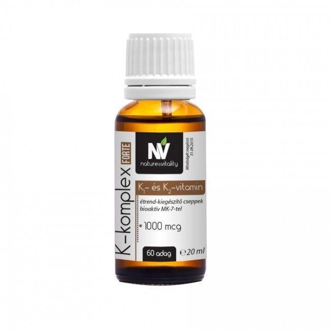 Nature & Vitality K-komplex Forte cseppek - 20ml