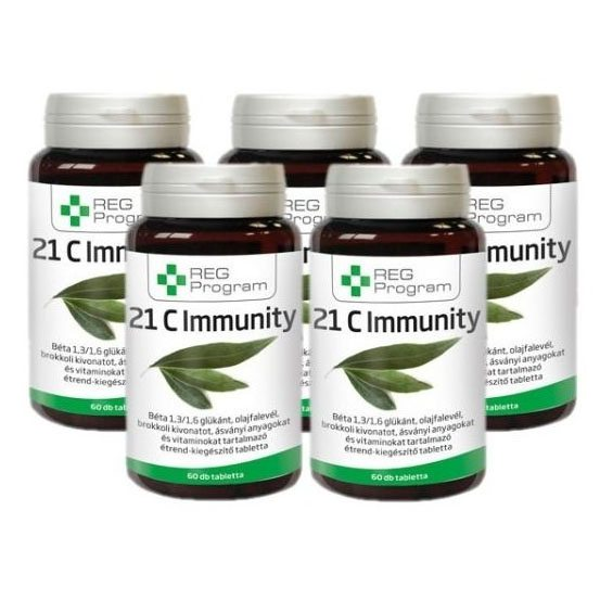 REG Program 21C Immunity 5db-os akció - 5x60db