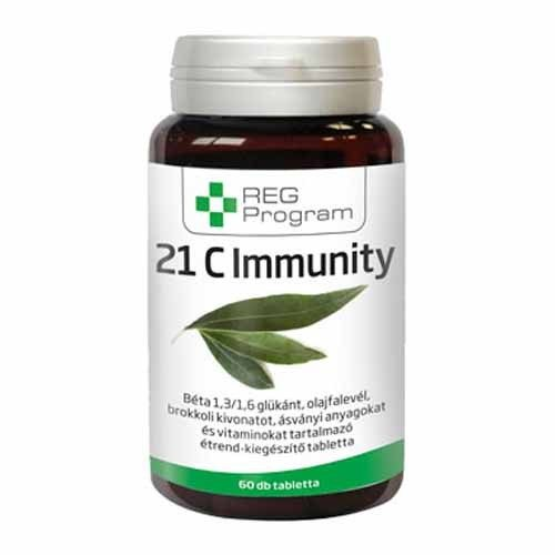 REG Program 21C Immunity tabletta - 60db