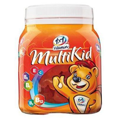 1x1 Vitaday Multikid gumivitamin - 50db