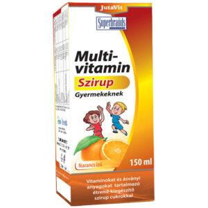Jutavit Multivitamin szirup gyermekeknek - 150ml