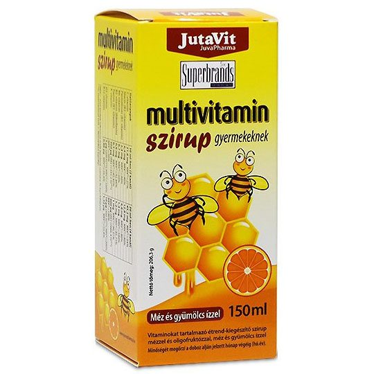Jutavit Multivitamin szirup - 150ml