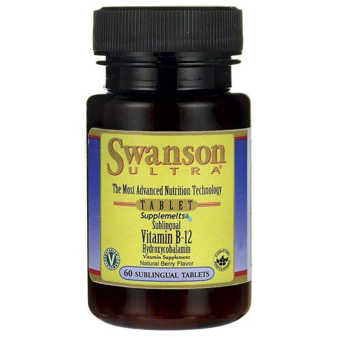 Swanson B12-vitamin kapszula - 60db