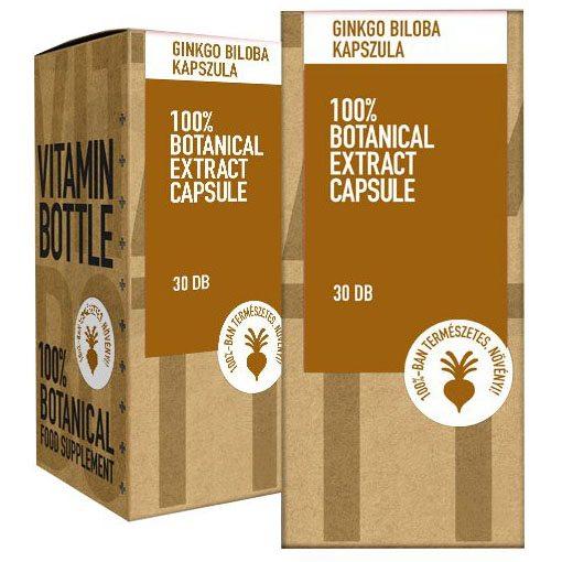 Vitamin Bottle Ginkgo Biloba kapszula - 30db