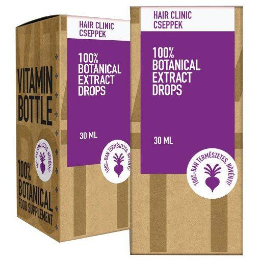 Vitamin Bottle Hair Clinic olajcsepp - 30ml