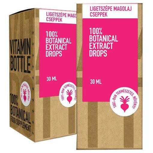 Vitamin Bottle Ligetszépe olajcsepp - 30ml