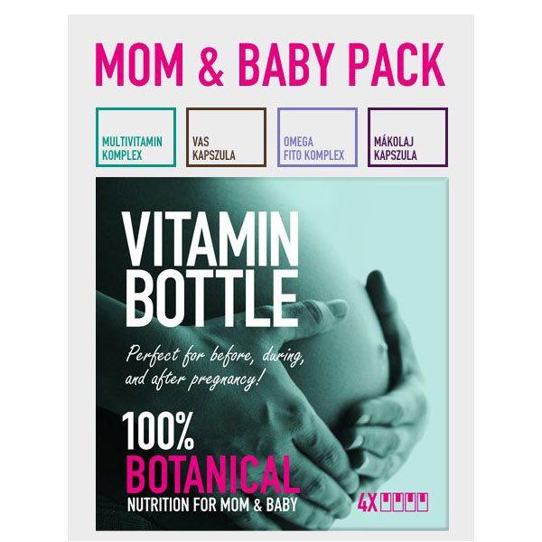 Vitamin Bottle Mom & Baby Pack