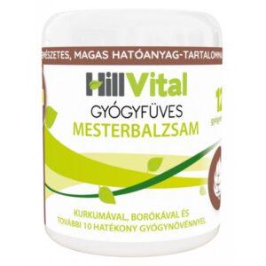 Hillvital gyógyfüves mesterbalzsam - 250ml