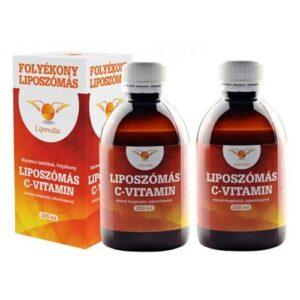 Lipovita Folyékony Liposzómás C-vitamin 2db - 2x200ml