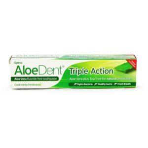 Optima AloeDent Triple Action Teafa fogkrém - 100ml