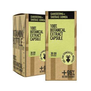 Vitamin Bottle Ganoderma + Shiitake kapszula - 30db
