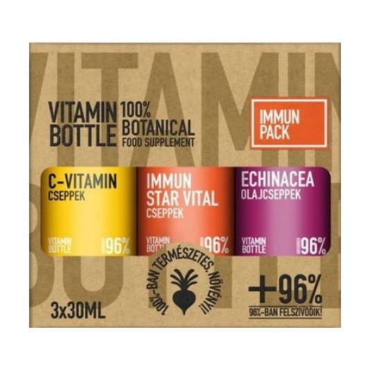 Vitamin Bottle Immune Pack - 3x30ml