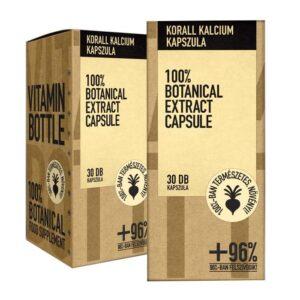Vitamin Bottle Korall Calcium kapszula - 30db
