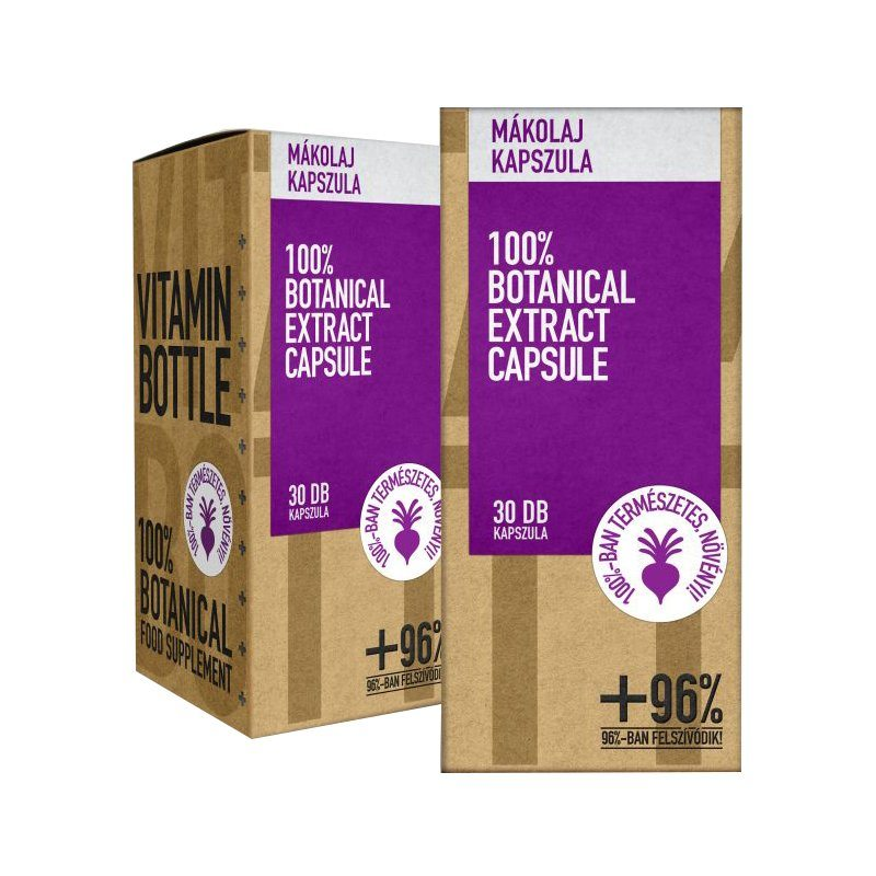 Vitamin Bottle Mákolaj kapszula - 30db