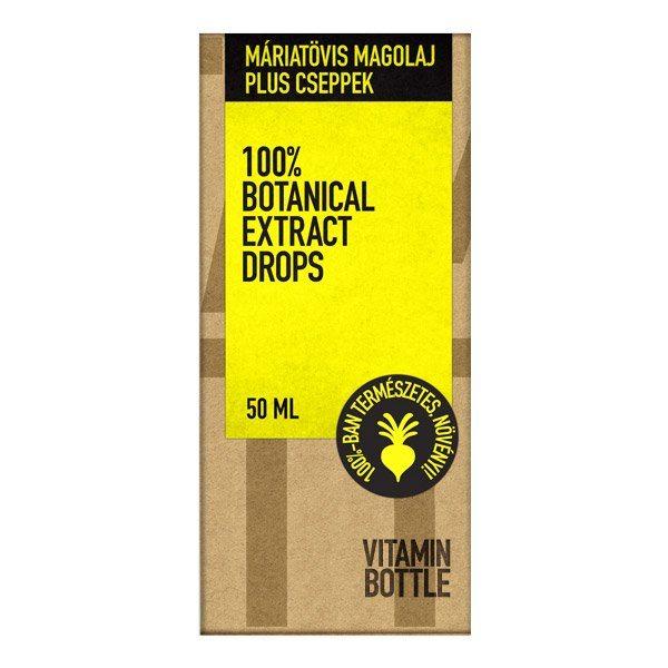 Vitamin Bottle máriatövis magolaj cseppek - 50ml