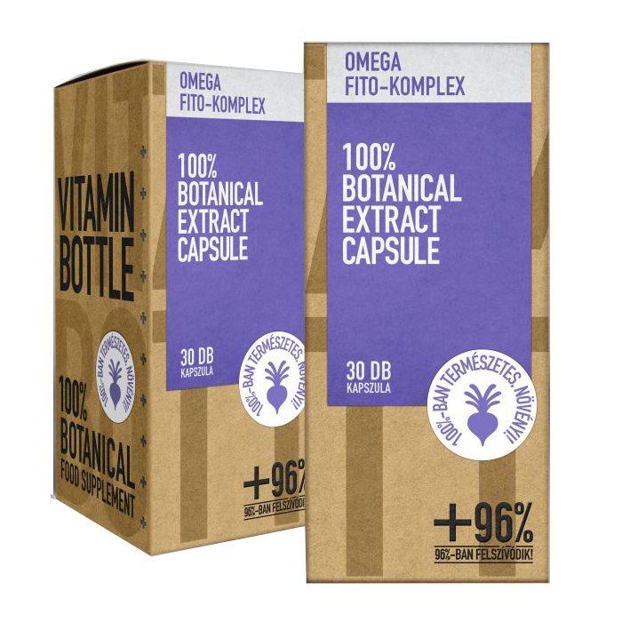 Vitamin Bottle Omega Fito-komplex kapszula - 30db