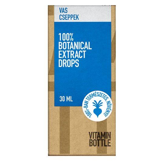 Vitamin Bottle Vas cseppek - 30ml
