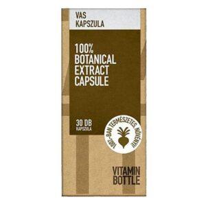 Vitamin Bottle Vas kapszula - 30db