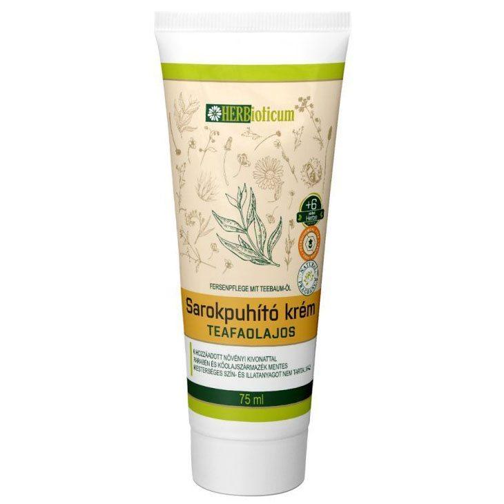 Herbioticum Sarokpuhító krém teafaolajos - 75ml