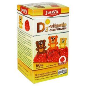 Jutavit D3-vitamin gumivitamin - 60db