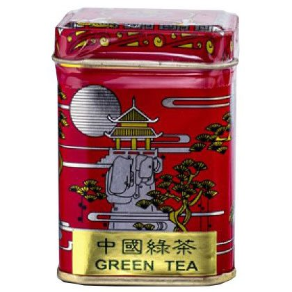 Sun Moon Eredeti Kínai zöld tea fémdobozos - 25g