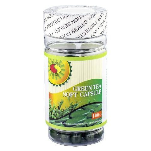 Sun Moon Zöld tea kapszula - 100db