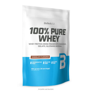 BioTech USA 100% Pure Whey meggyes-joghurt - 454g