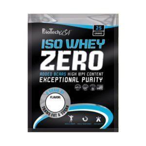 BioTech USA 100% IsoWhey ZERO Lactose Free eper - 10x25g