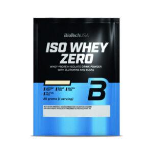 BioTech USA 100% IsoWhey ZERO Lactose Free banán - 10x25g