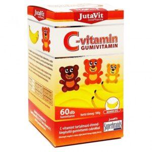 Jutavit C-vitamin banán ízű gumivitamin - 60db
