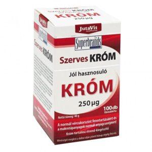 Jutavit Szerves Króm tabletta - 100db