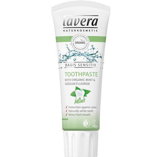 Lavera BASIS mentolos fogkrém - 75 ml