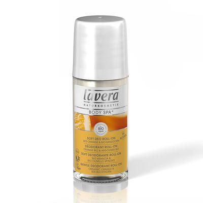 Lavera BODY SPA narancs-homoktövis golyós dezodor - 50 ml