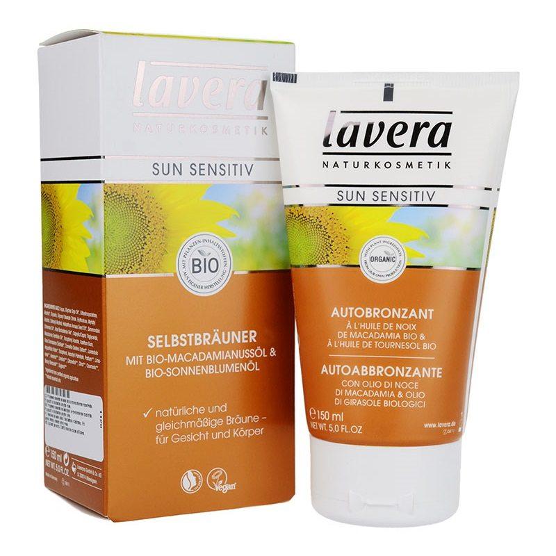 Lavera SUN Önbarnító arckrém - 50 ml