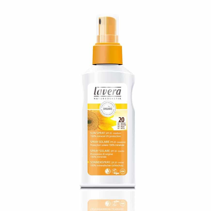 Lavera SUN napvédő spray - 125 ml