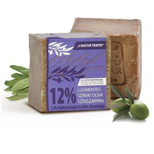 Najel szíriai Olíva színszappan 12% Babér és 88% Olívaolaj - 170g