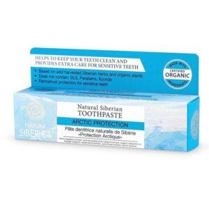Natura Siberica Arctic Protection fluoridmentes fogkrém érzékeny fogakra - 100g