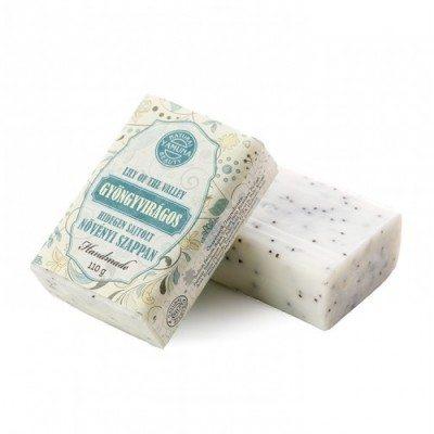 Yamuna Hidegen sajtolt Gyöngyvirág szappan - 110g