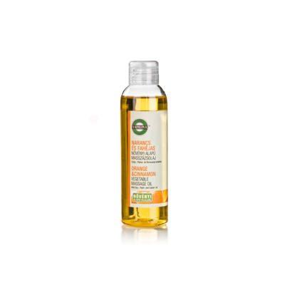 Yamuna növényi alapú Narancs-fahéjas masszázsolaj - 250ml