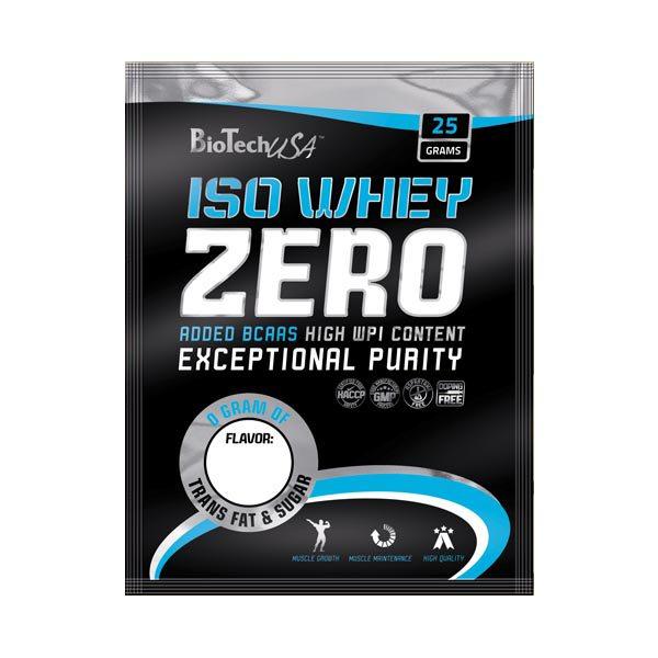 BioTech USA 100% IsoWhey ZERO Lactose Free mogyoró - 10x25g