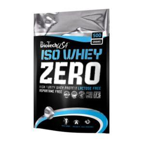 BioTech USA 100% IsoWhey ZERO Lactose Free citromos-sajttorta - 500g