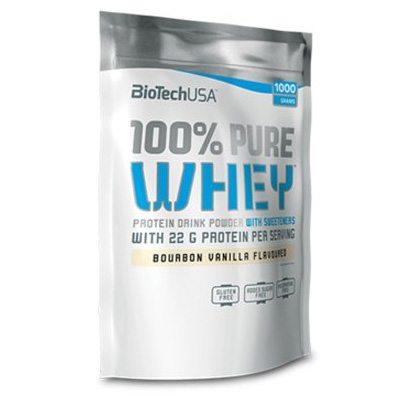 BioTech USA Pure Whey karamell-cappuccino - 1000g