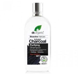 Dr. Organic Charcoal Mélytisztító sampon aktív szénnel - 265ml