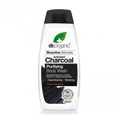 Dr. Organic Charcoal Mély tisztító tusfürdő aktív szénnel - 250ml