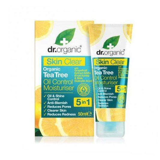 Dr. Organic Skin Clear Mattító hidratáló 5 az 1-ben arckrém - 50ml
