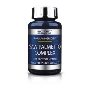 Scitec Essentials Saw Palmetto (Fűrészpálma, Szabalpálma, Törpepálma) Complex kapszula - 60db