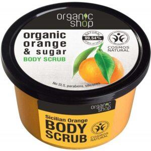 Organic Shop Bőrradír bio naranccsal és cukorral - 250ml